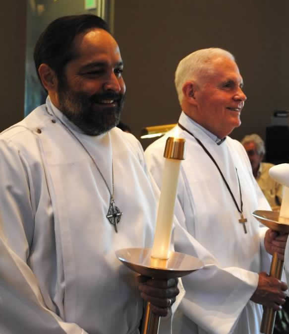 The Episcopal faith practices and/both instead of either/or. That is particularly true of the Eucharistic Ministry, a way of serving that is both personal and public, reverent and joyful.